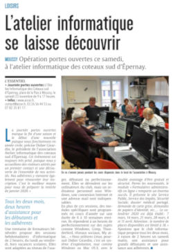 Article Union 2019.11.20 Portes Ouvertes